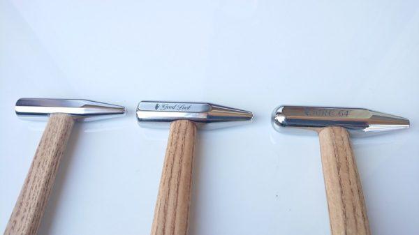 2x PDR Blending Hammers Good Luck 130gr vs 140gr HRC64