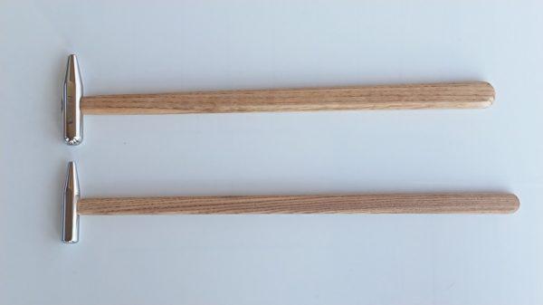 PDR Blending hammers easy100g vs 140gr hrc64