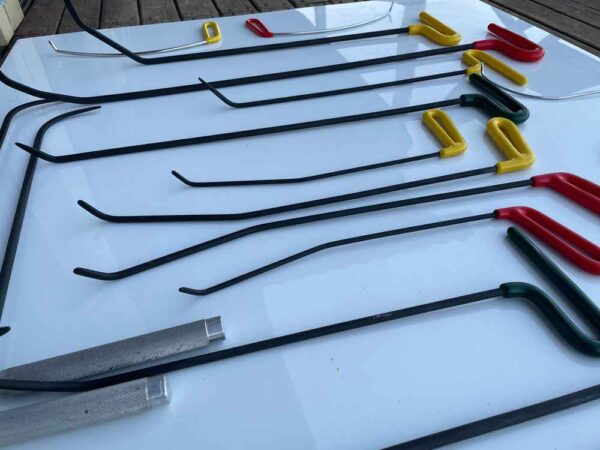 PDR Tools - Side Panel Hooks Set 20 pcs. - PDR Tools Ali-Tools.com